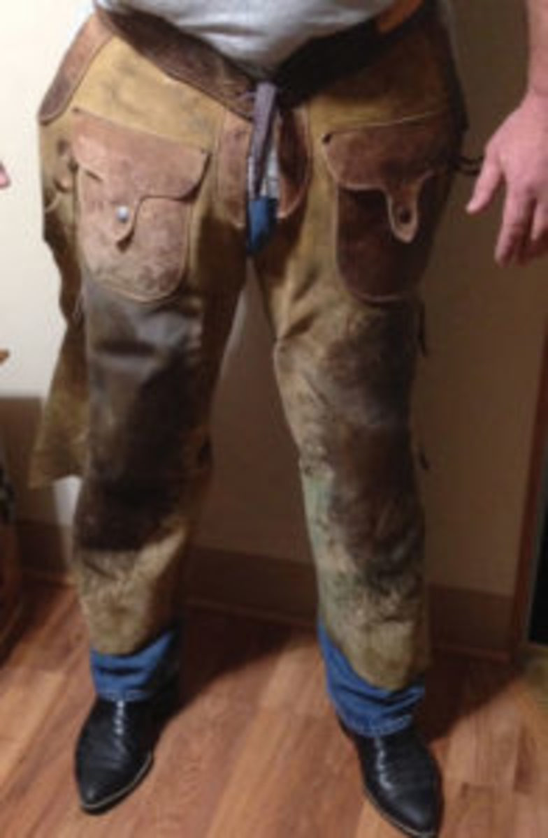 Vintage child's saddle pants, won in a contest. (Submitted photo)
