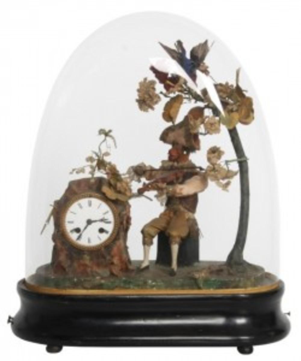 Animated musical clock