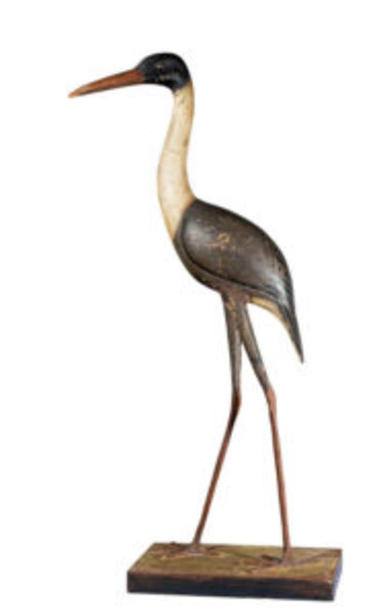 The Guennol Heron decoy