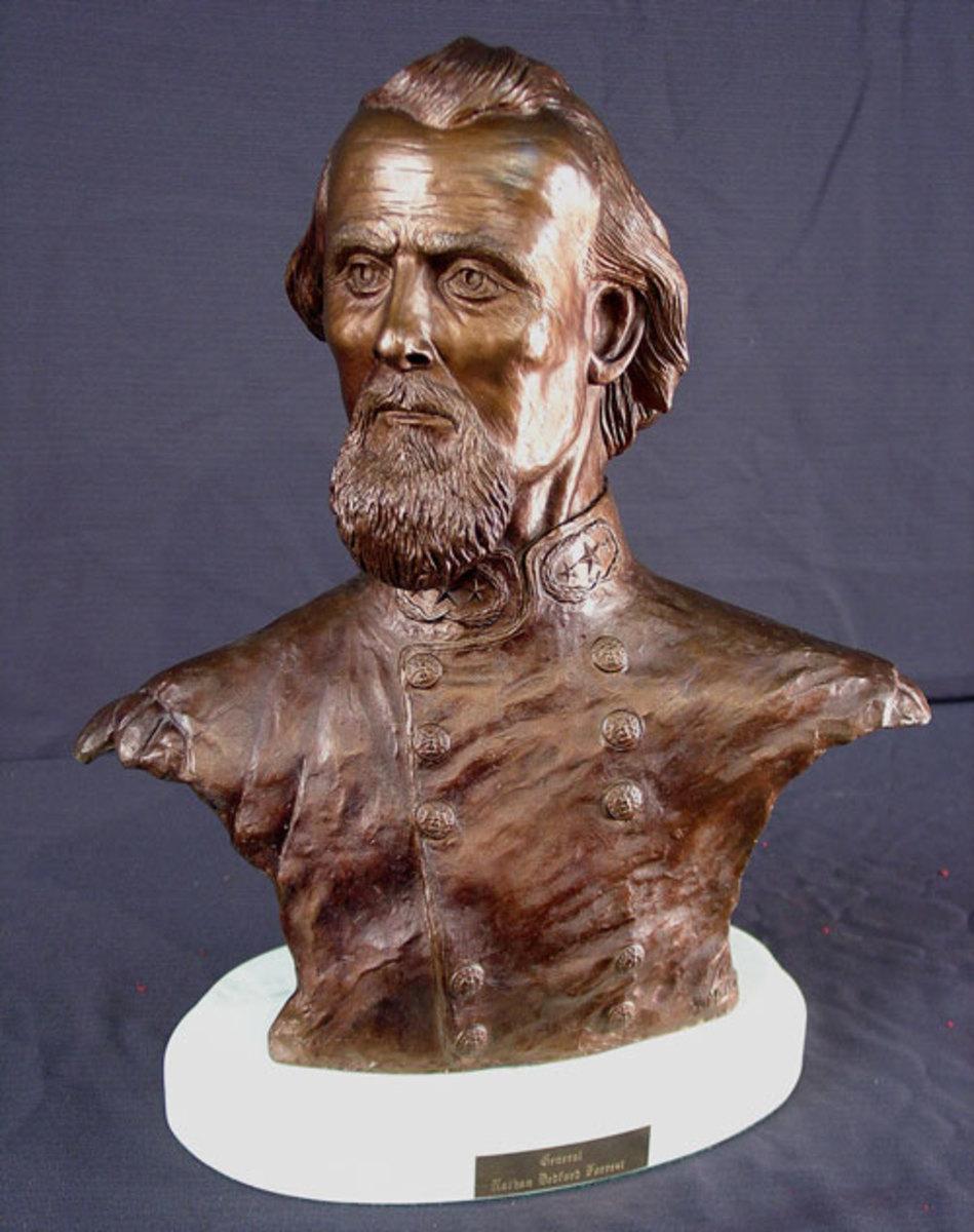 Bronze cast Nathan Forrest