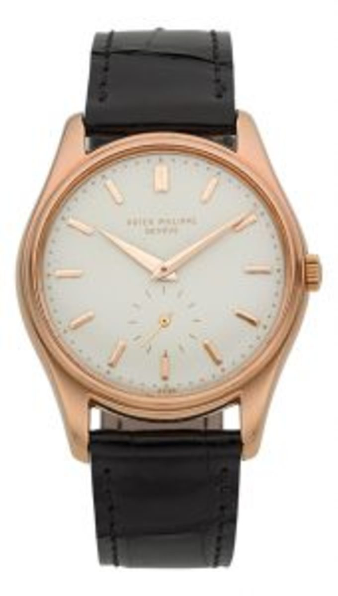 Phillippe rose gold wristwatch