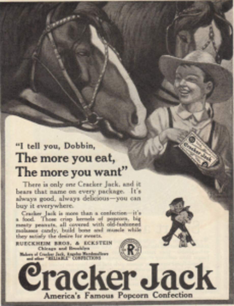 Cracker Jack ad