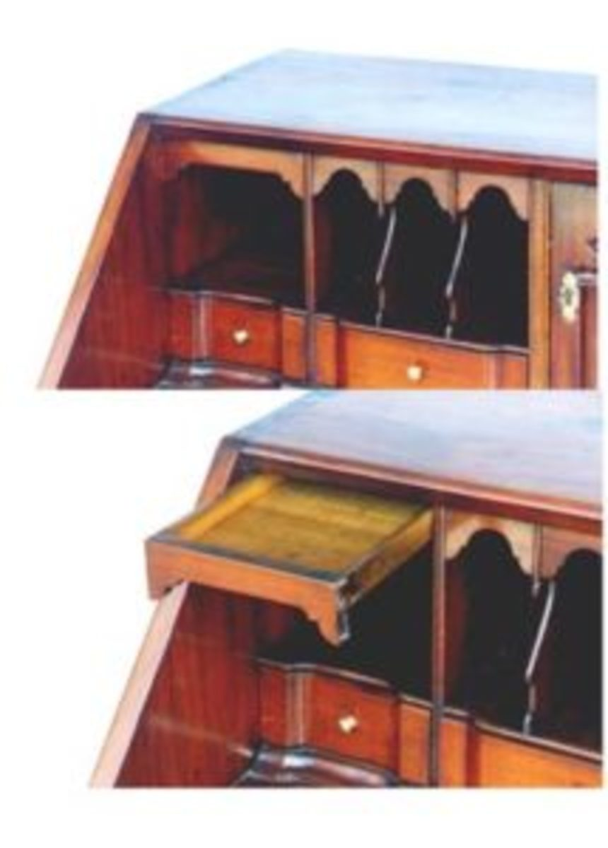 secret compartment in desk