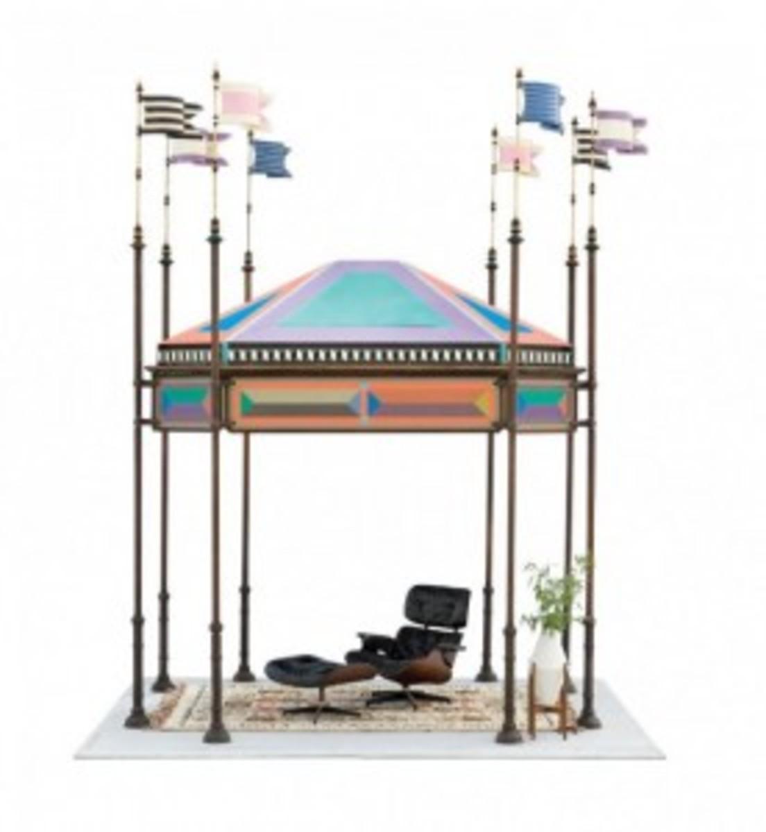 Eames freestanding kiosk