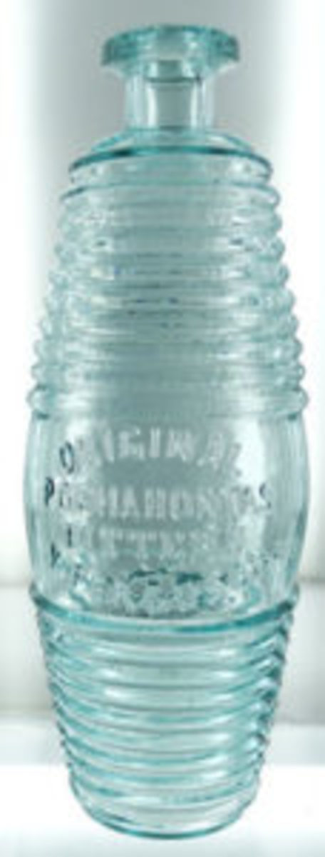Rare Pocahontas bitters rare bottle