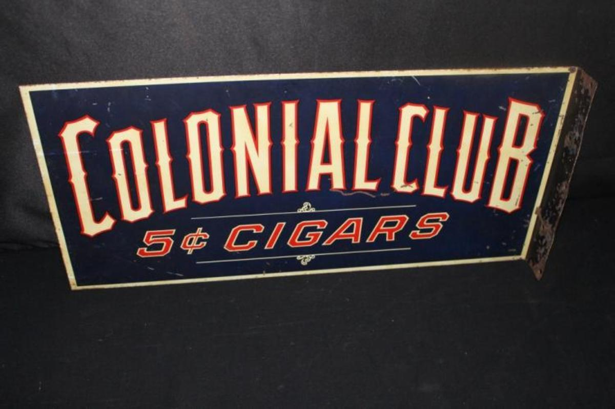 Colonial Club cigars sign