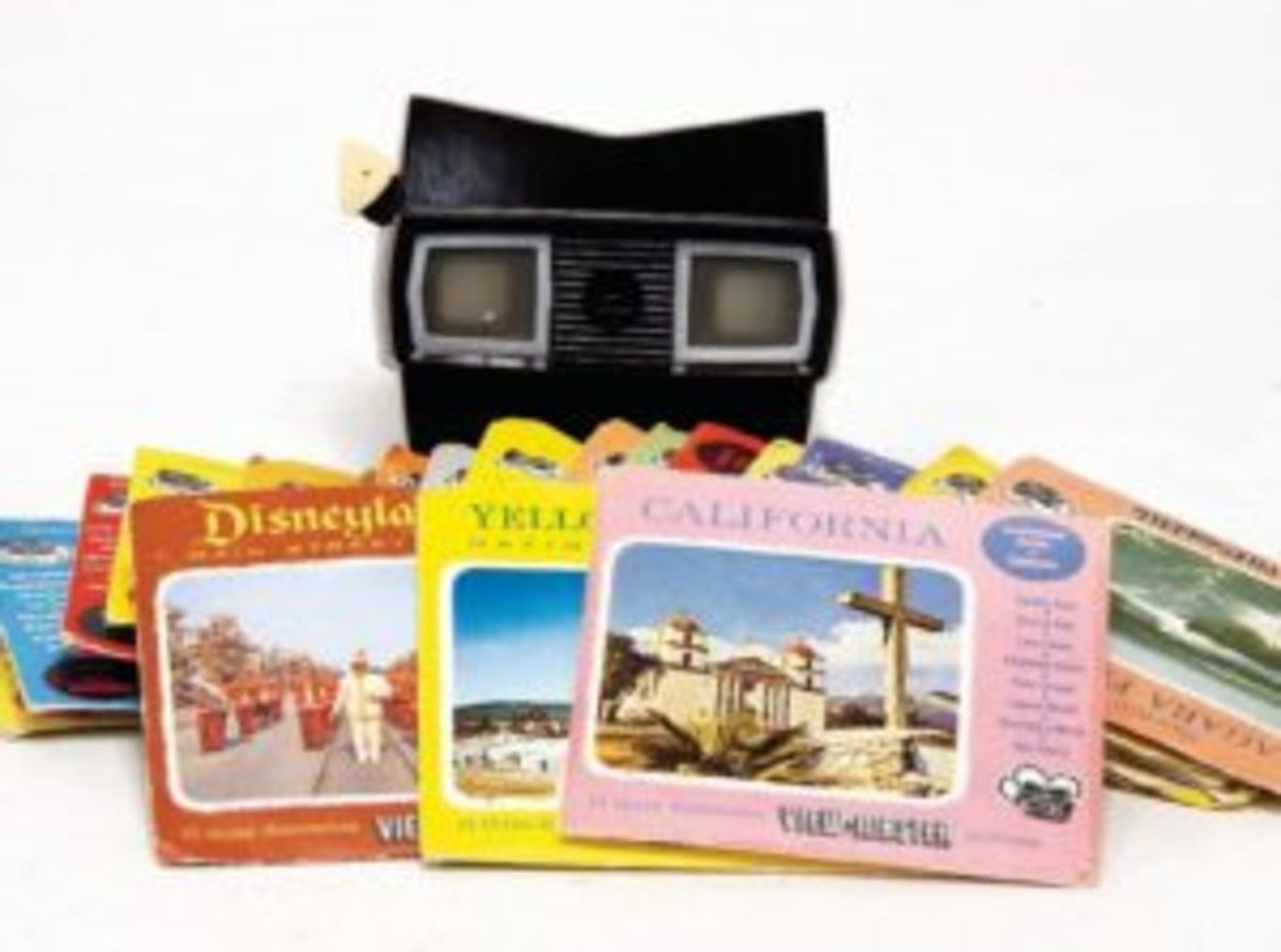 View-Master steroscope