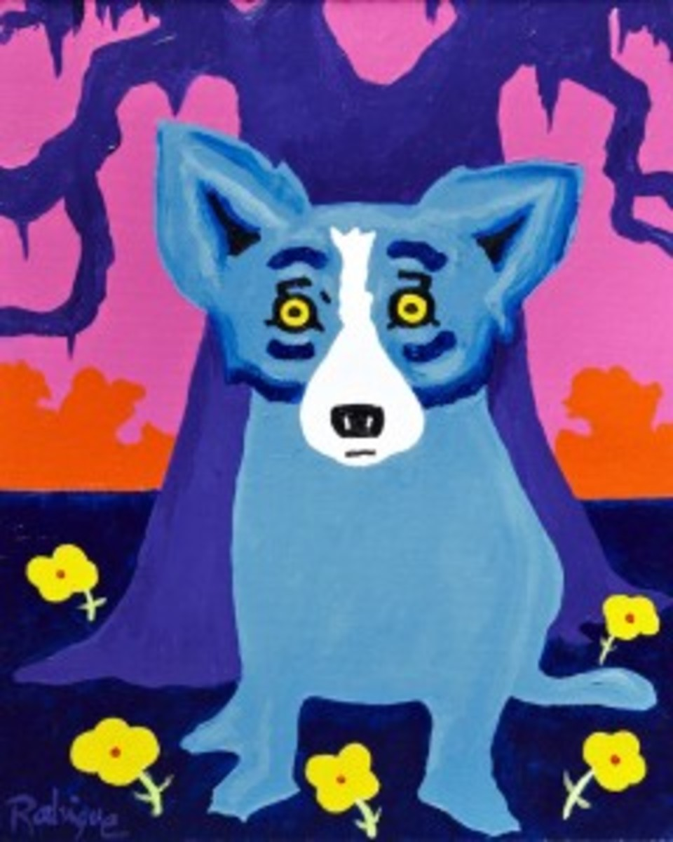 Rodrigue painting