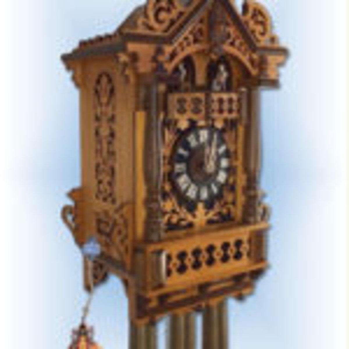 Trackwalker House cuckoo clock