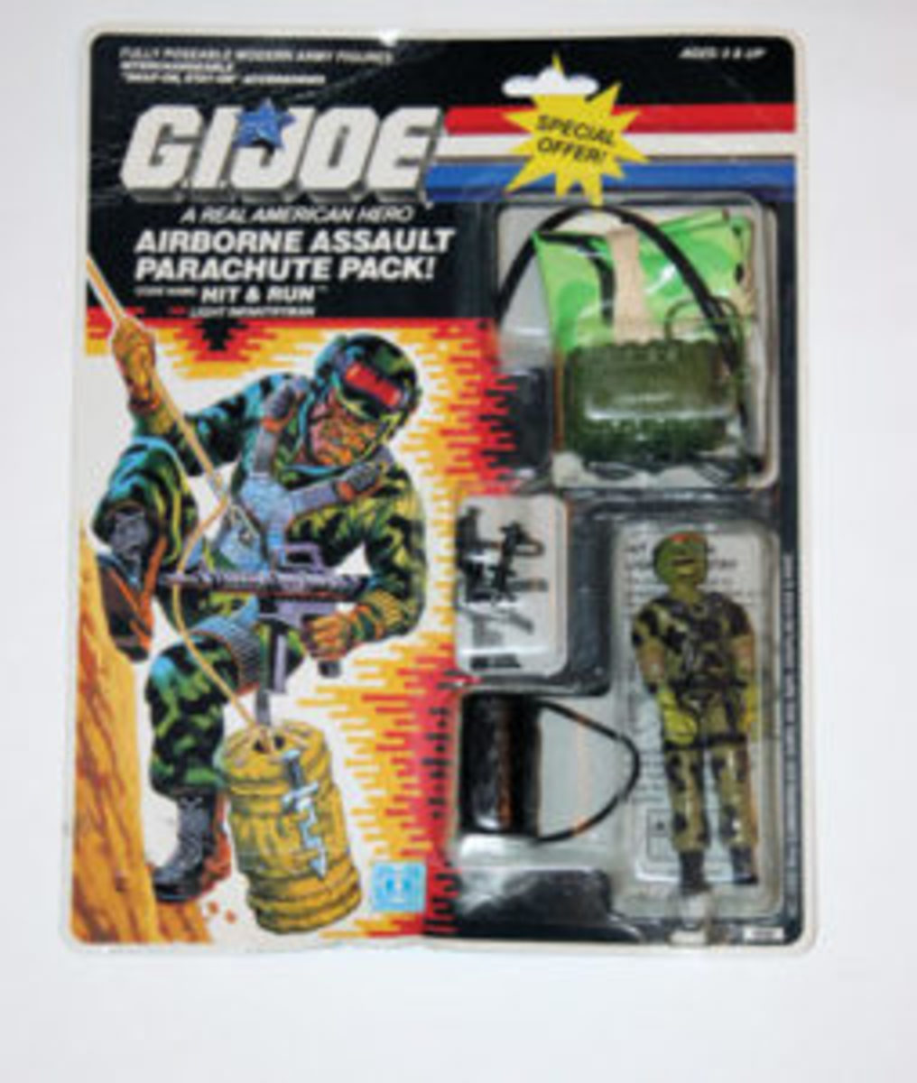 1988 Target Hit & Run exclusive G.I. Joe