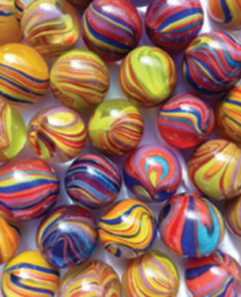 Electric marbles