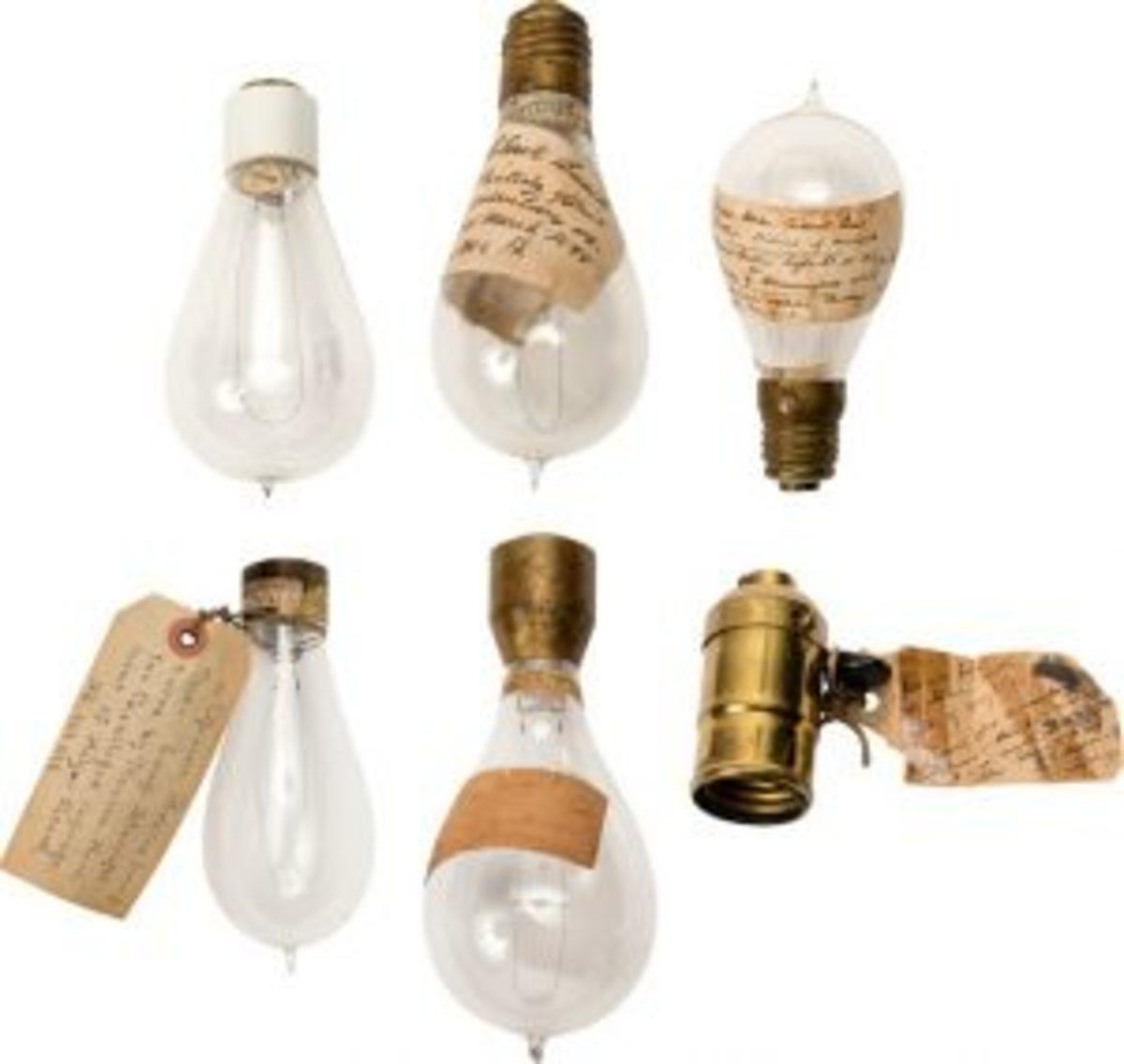 Edison-related lightbulbs