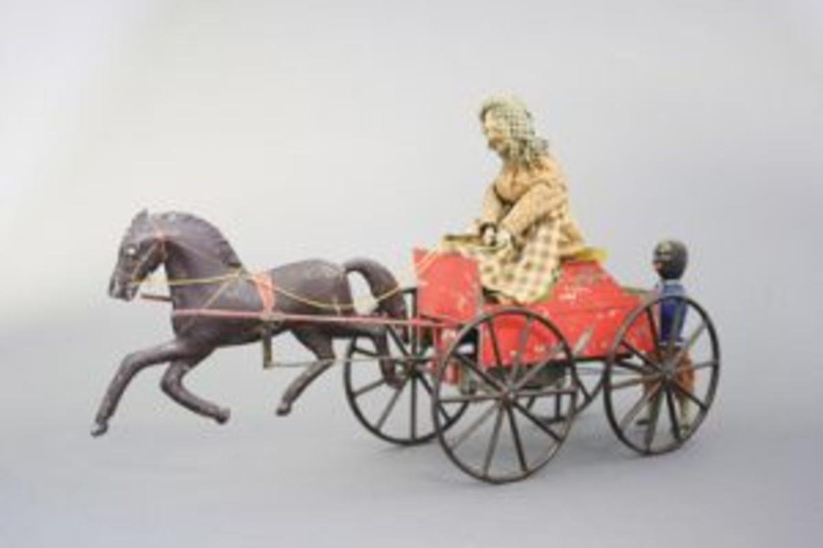Hook Behind horse-drawn toy