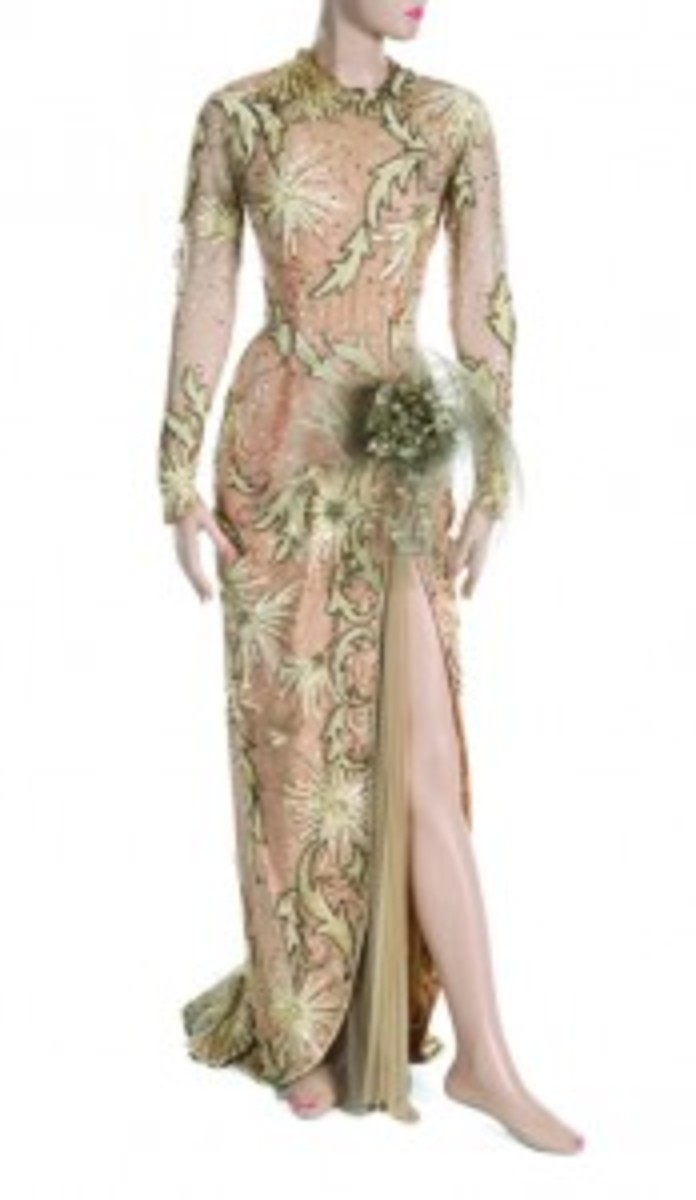 "Monroe ""There's No Busines Like Show Business"" gown"