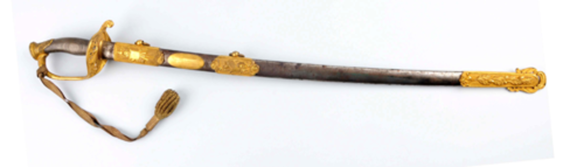 Presentation sword