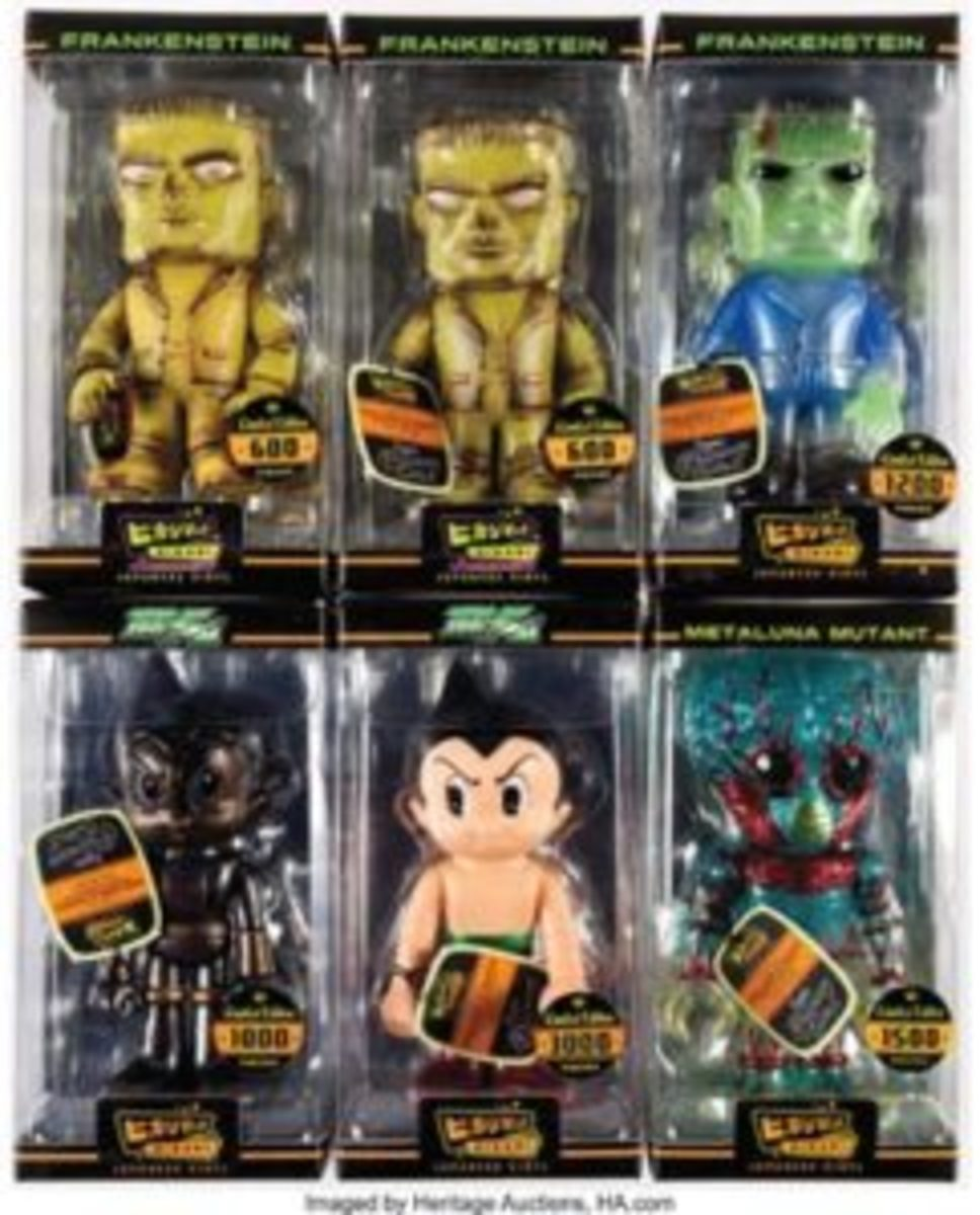 Funko Limited Edition Japanese Vinyl Figures Group of 6