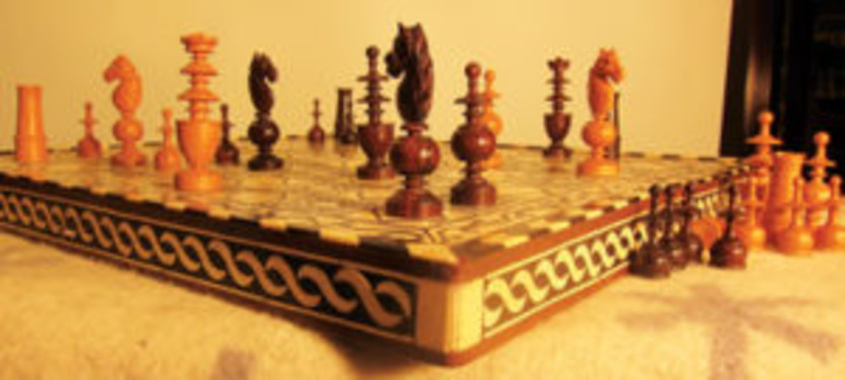 Late 19th century chess sets