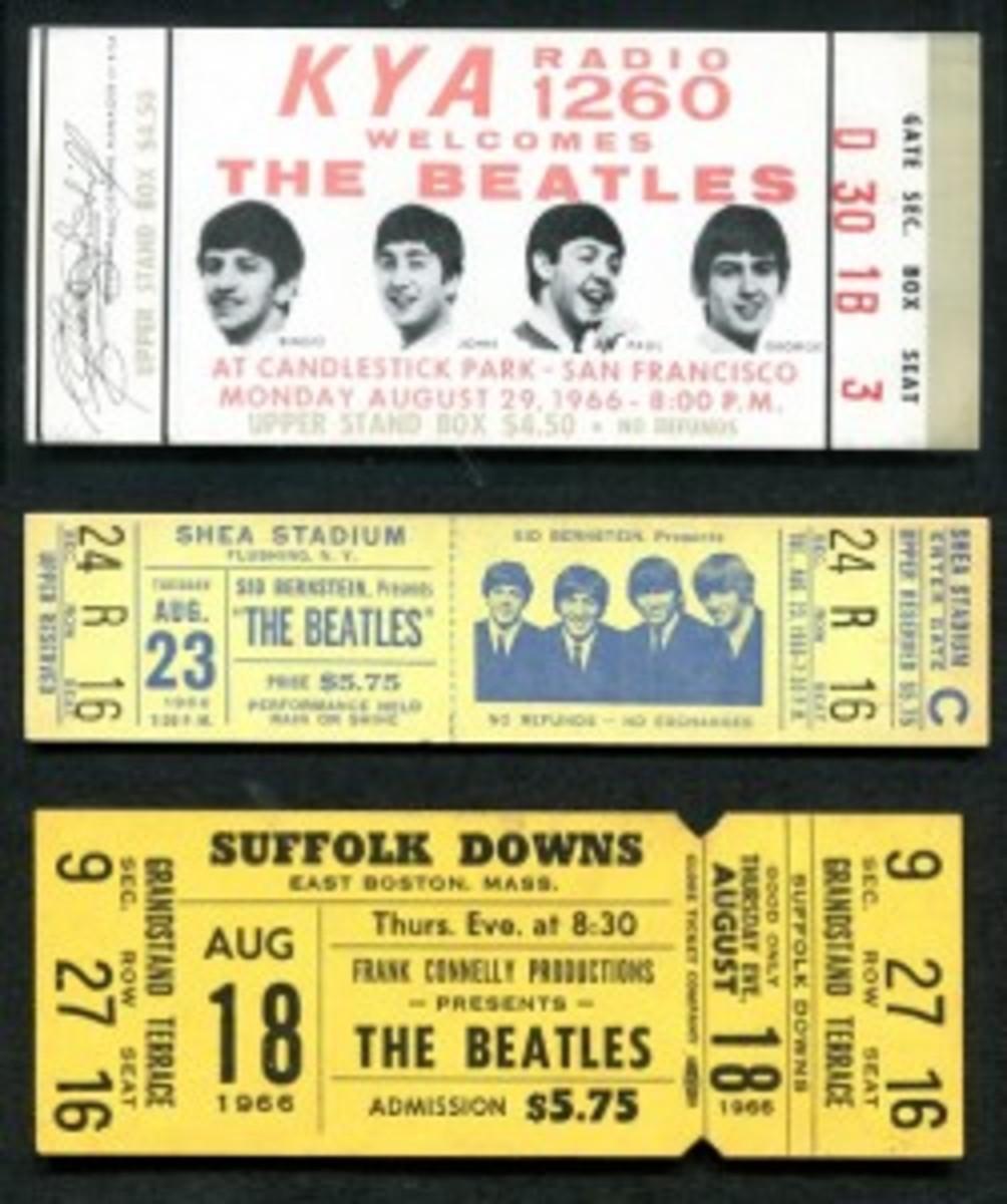 Beatles tickets