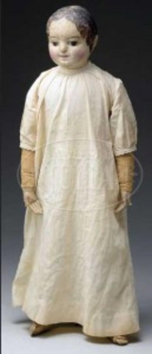 Early Izannah Walker Doll