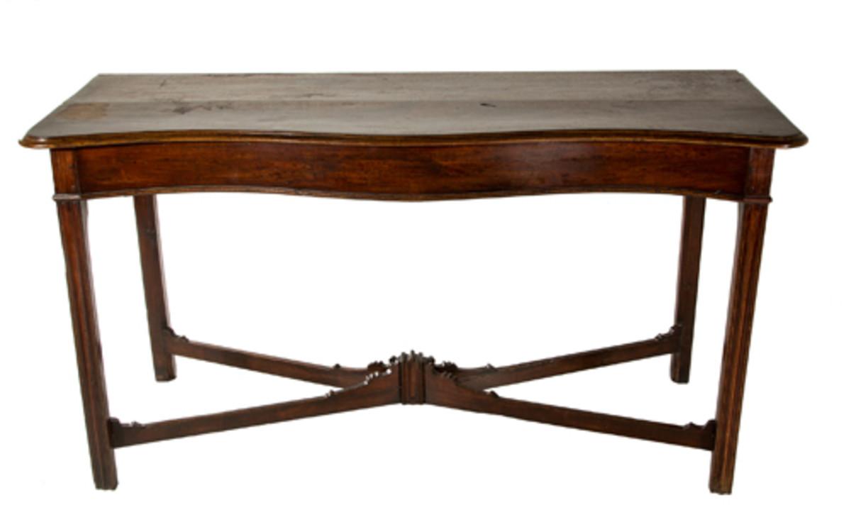 Virginia carved sideboard