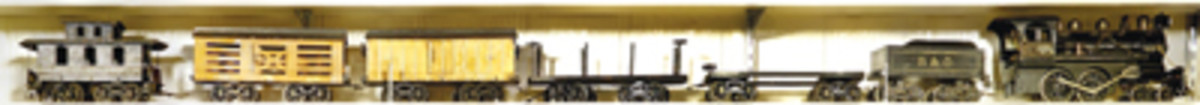 Voltamp 2100 standard gauge toy train