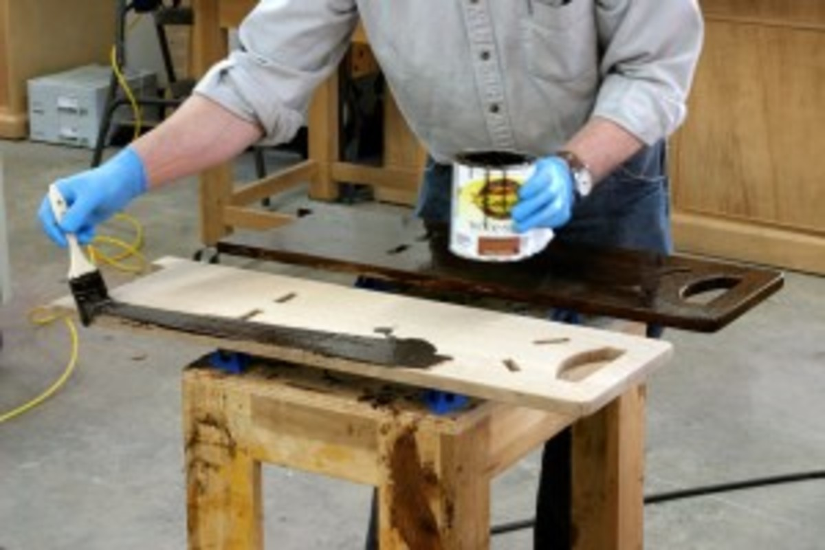 Illustrated technique used by Popular Woodworking's Robert Lange.
