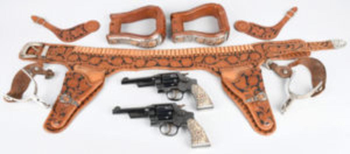 John Wayne revolvers and gear