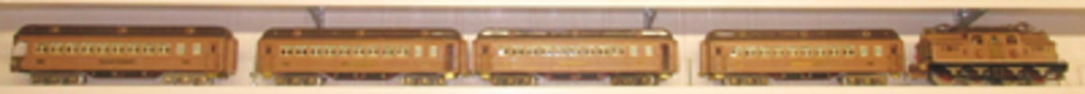 Lionel 408 'State Brown' standard gauge train