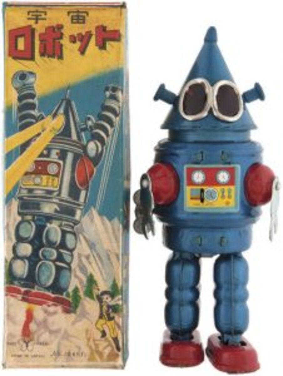 Conehead Robot