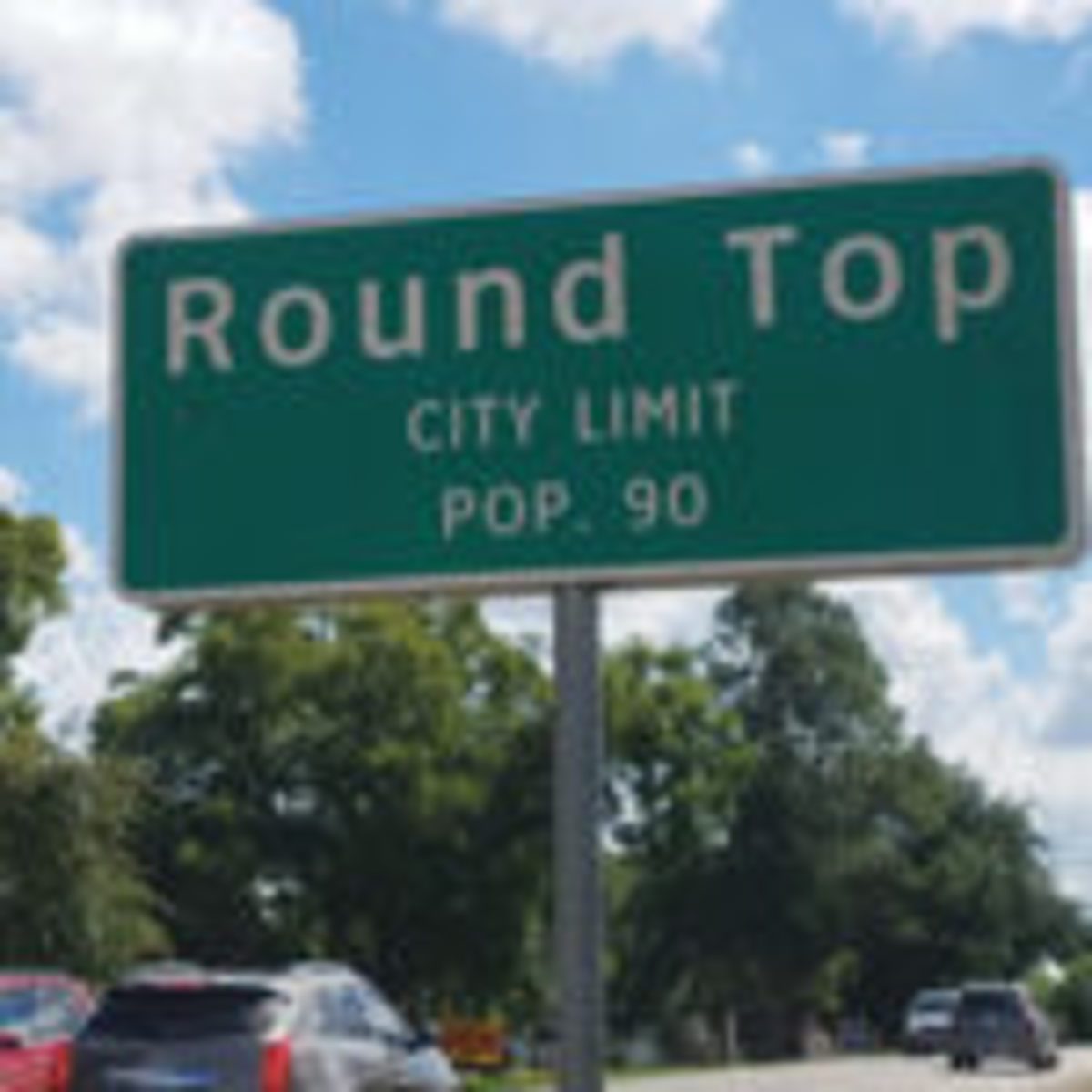 The regular population of the tiny town of Round Top, Texas, is 90. Photos courtesy Melanie Carnation Thomas