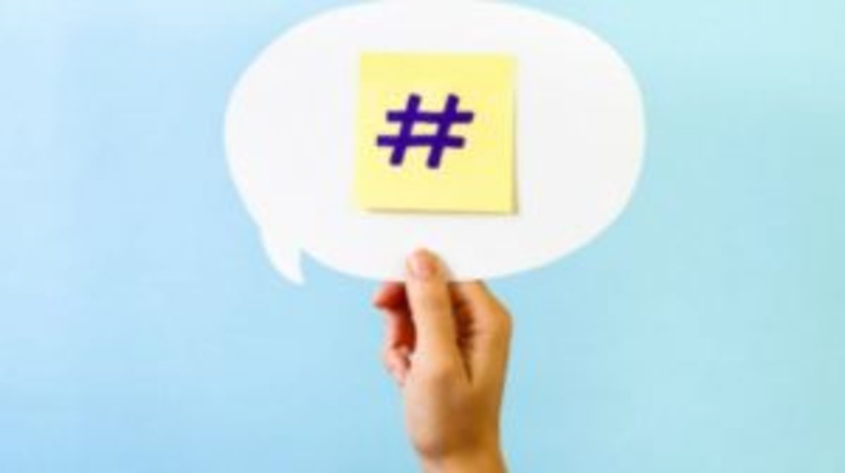 Effective use of hashtags aids in social media postings.