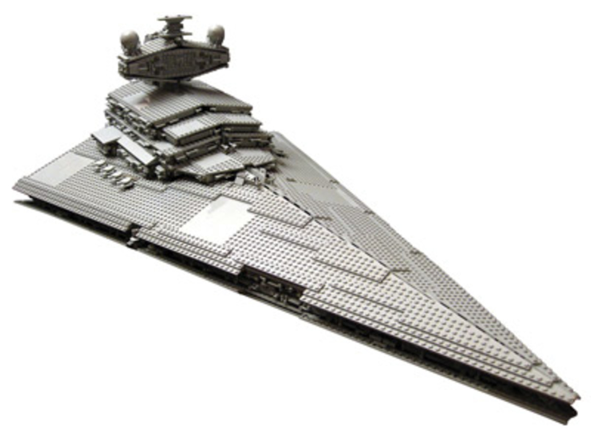 Imperial Star Destroyer LEGO set