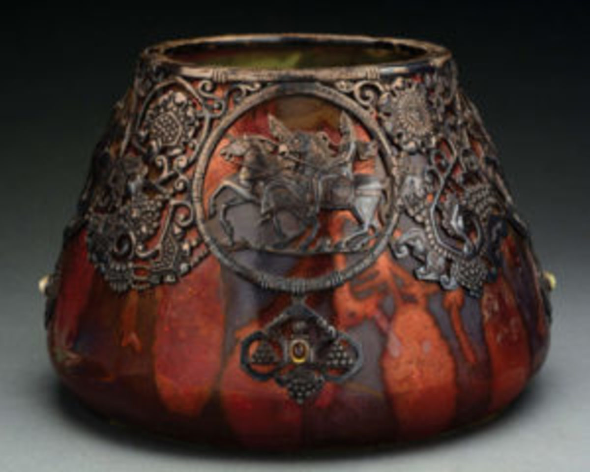 Russian vase, unknown maker,