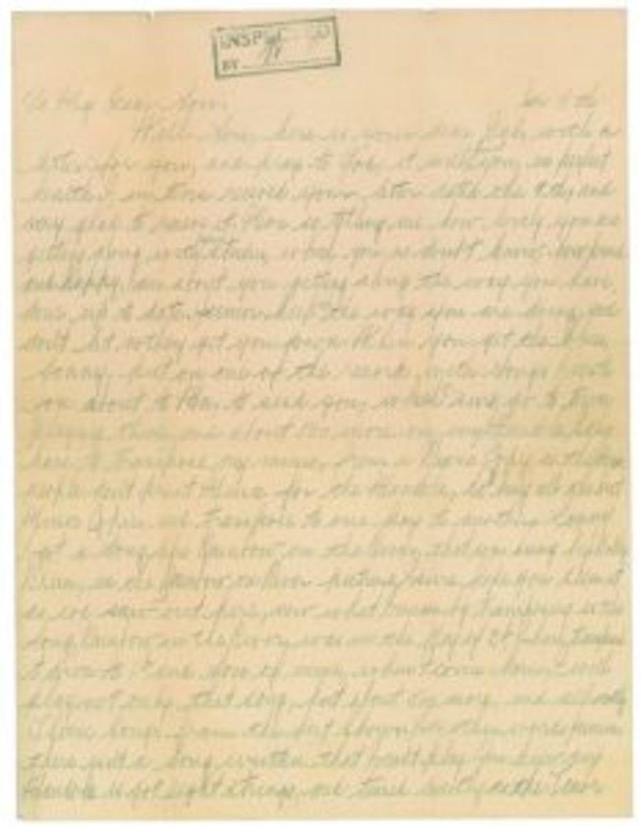 Al Capone letter