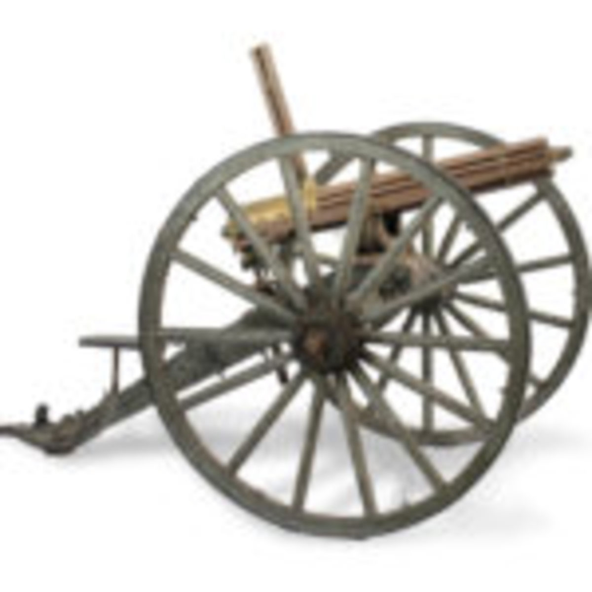 "Colt Manufacturing Company Model 1875 Gatling Gun, .45 caliber and marked ""NJ""."