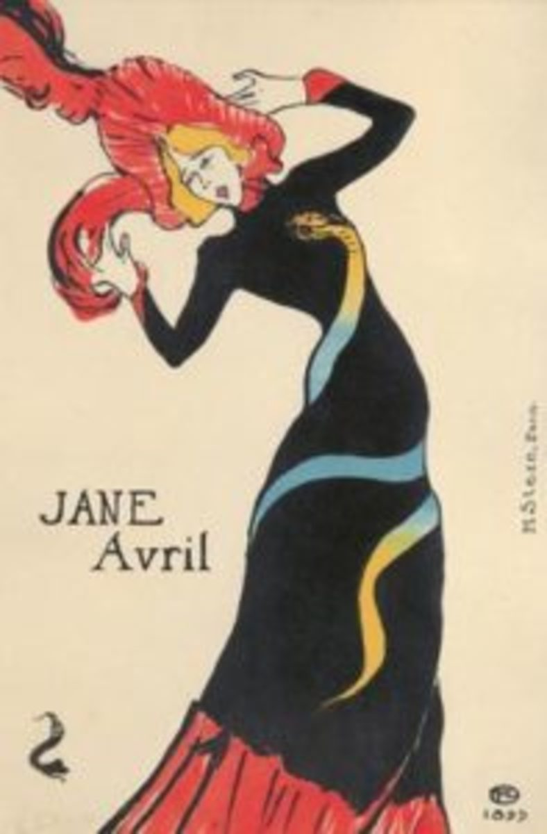 Jane Avril (1899), by the French illustrator Henri de Toulouse-Lautrec (1864-1901), sold for $180,000 at Poster Auctions International, Inc., Oct. 11, 2015.