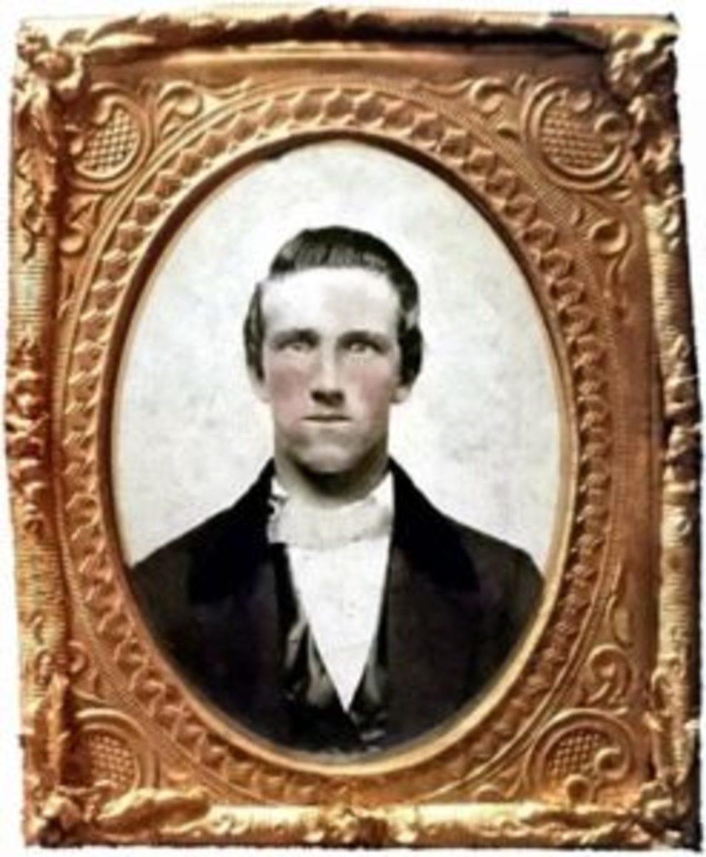 Ambrotype Josiah P. Hammond