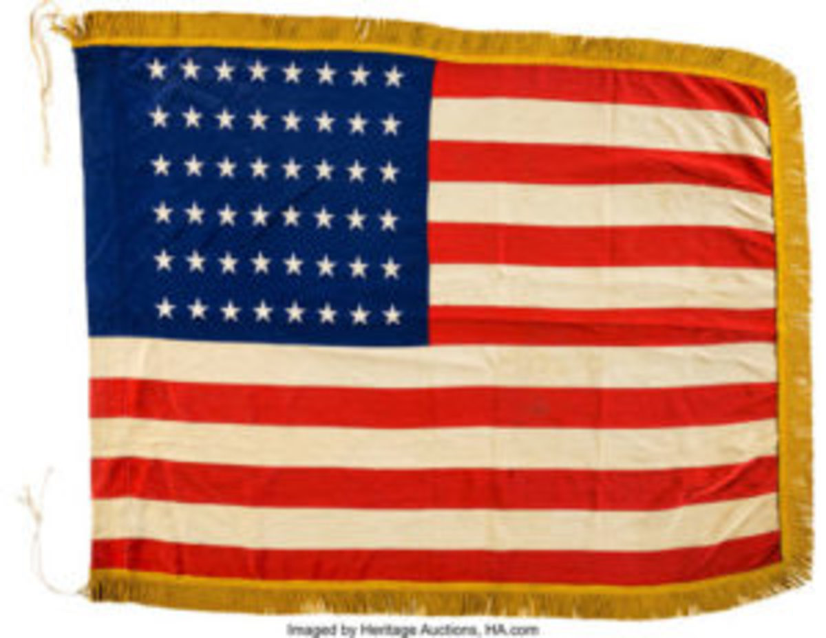 D-Day Flag. Images courtesy of Heritage Auctions