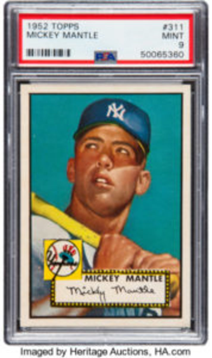 Topps Mantle 1952