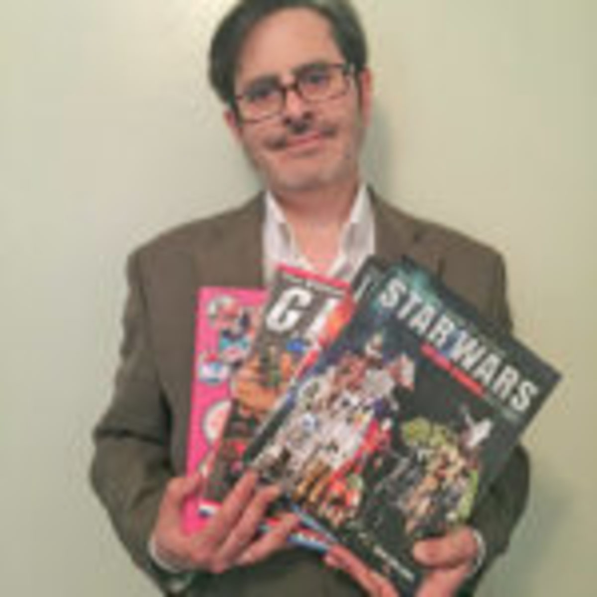 Author and toy expert Mark Bellomo. Photo courtesy Krause Publications.