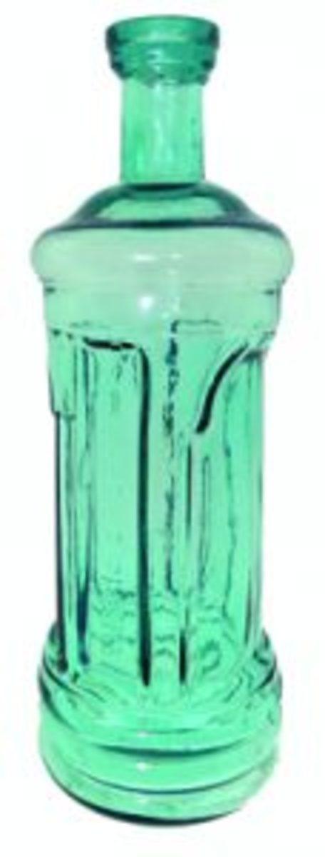 Sarsapariphere Western bitters bottle