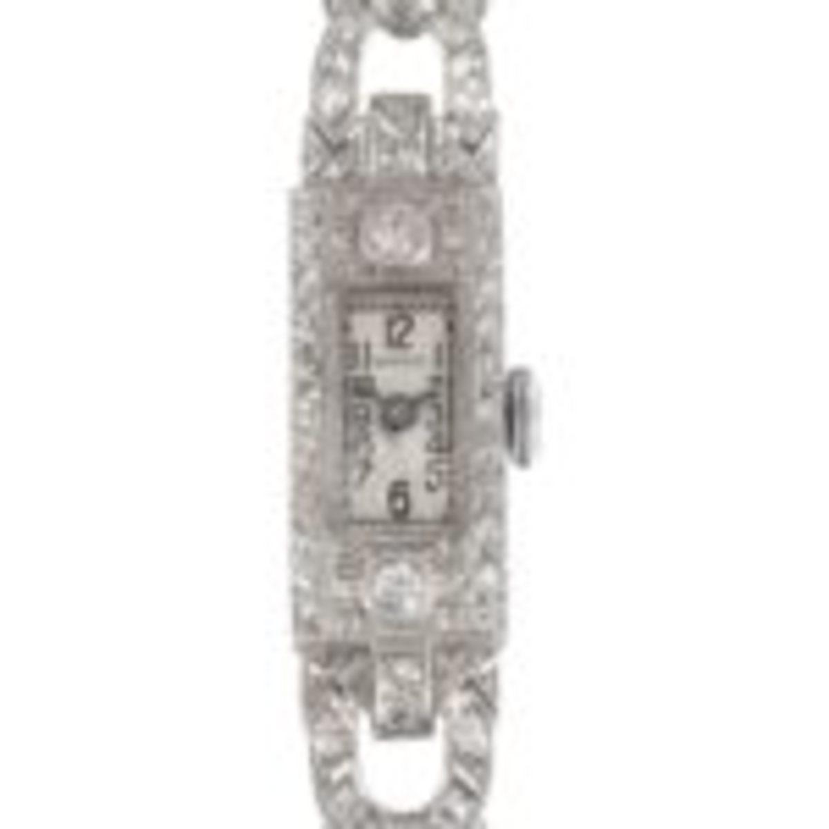 Luxury watch by Shreve & Co.