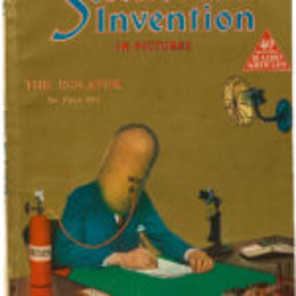 Science and Invention magazine featuring Hugo Gernsback's Isolator Helmet