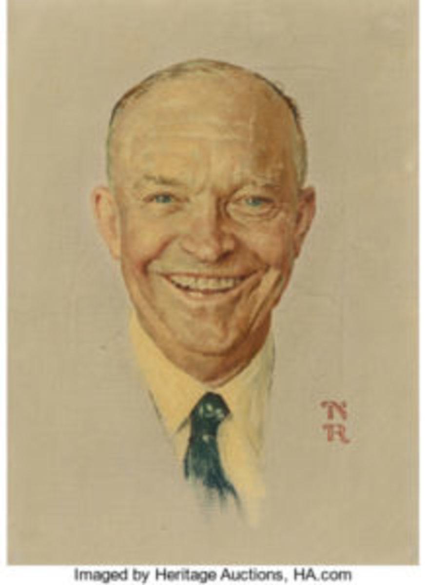 Rockwell Eisenhower portrait