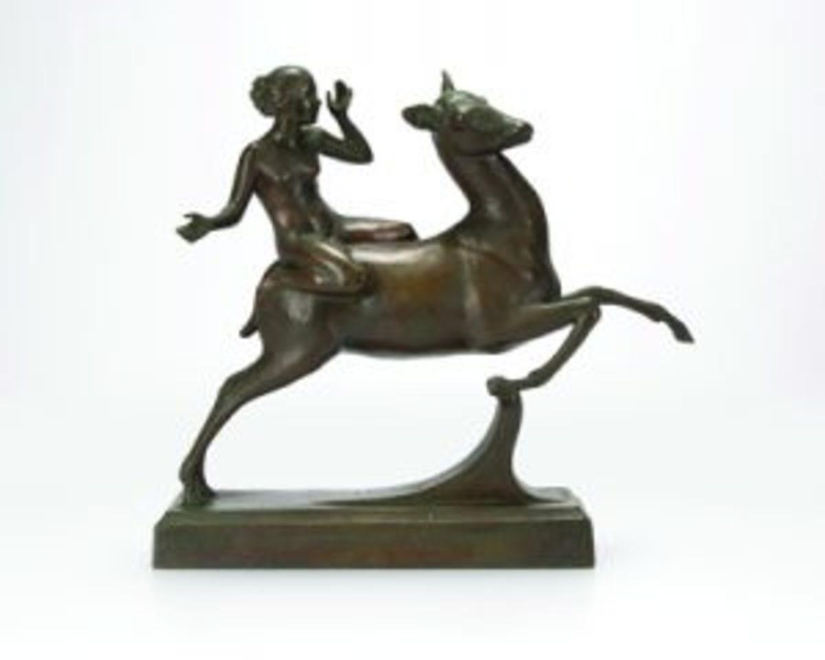 Ida McClelland Stout bronze sculpture