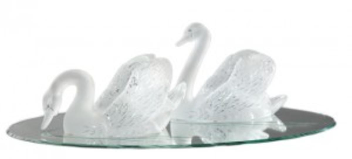 Lalique swans