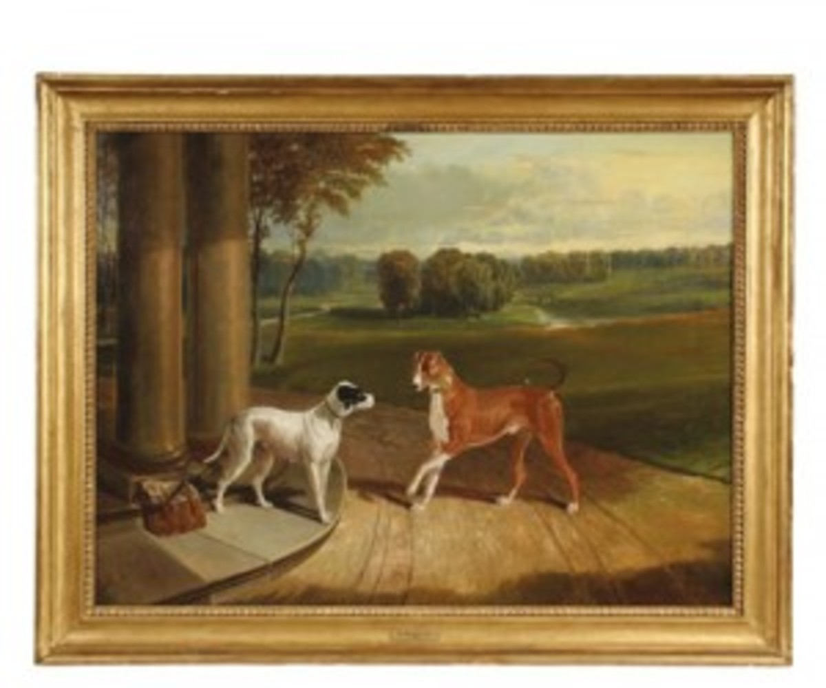 'The-Courting-of-a-Hound'-by-John-Frederick-Herring,-Sr-SMweb