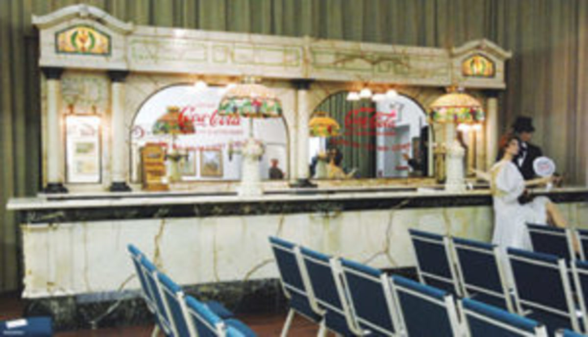 1893 Chicago World Fair soda fountain, $4.5 million, sold through Richard Opfer Auctioneering Inc March, 2013.