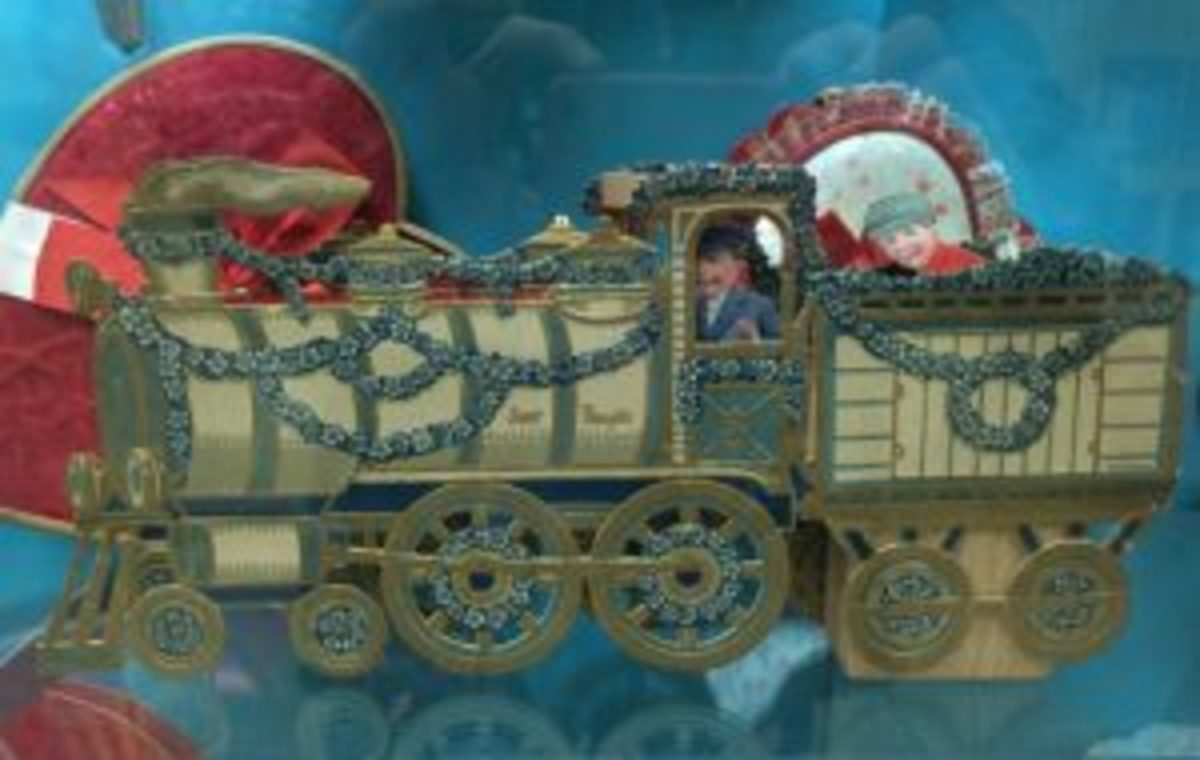 Valentines Locomotive