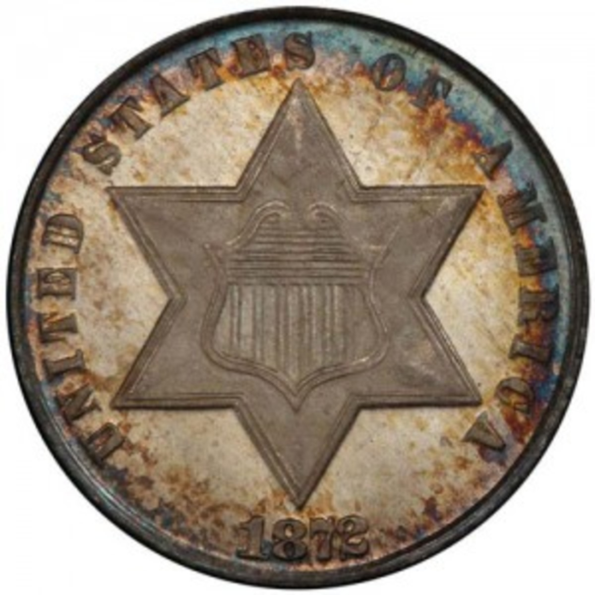 Three-cent silver coin